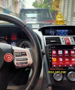Màn hình Android Gotech trên Subaru forester