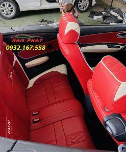 Bọc ghế da BMW 128i đời 2008