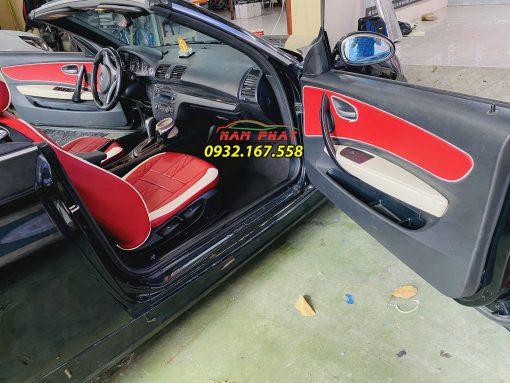 Bọc ghế da BMW 128i