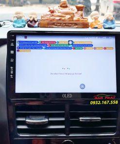 Toyota Vios 2021 lắp màn hình Android Oled C8s